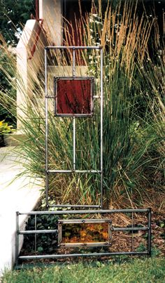 Bill Collins garden art