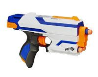 Not to be confused with the Nerf N-Strike Elite video game. N-Strike Elite is a current series of Nerf blasters that was released on August Nerf Rifle, Steampunk Gun, Spy Gear, Nerf War, War Machine, Battle, Guns, Fandoms, Boy Rooms