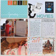 A Vegas Girl at Heart: Project Life 2015 - Jan 1 - 15