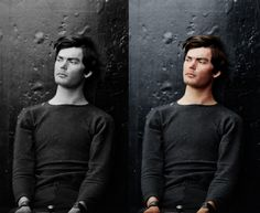 Creepy: Lewis Powell Before and After