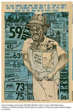 Black Panther: The Revolutionary Art of Emory Douglas   MOCA The Museum of Contemporary Art, Los Angeles