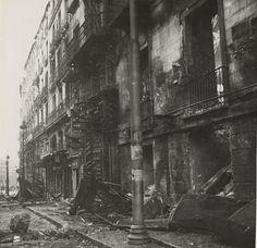 Fotos de Madrid durante la Guerra Civil - Calle Alcalá