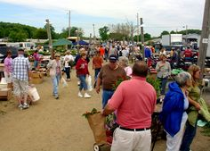Rogers Flea Market located in Rogers, Ohio ~ One of Ohio's largest flea markets open every Friday