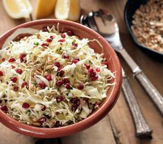 Ikaria Cabbage Pomegranate Superfood Slaw