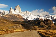 "Breathtaking Natural Beauty of ""Fitz Roy"" Mountain"