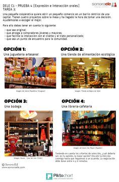 DELE C1: MODELO 3 DE LA PRUEBA 4 (Expresión e interacción orales) - Online Spanish - Sonora ELE..