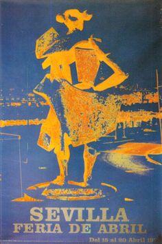 Cartel de 1975 - Autor Feria: Manuel Baena Torrejón Dimensiones: 48 x 68cm Litografía: Seix Barral (Barcelona)