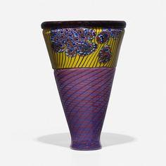 Tagliapietra and Navarra V-Shaped vase