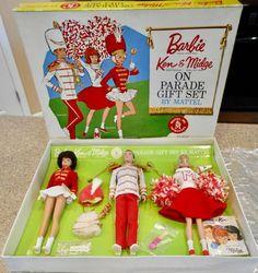 Mattel Barbie, Barbie And Ken, Barbie Dolls, Vintage Box, Vintage Barbie, 6 Mo, Barbie Friends, Gift Sets, Antique Stores