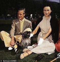 "King Edward VIII ""David"" (Edward Albert Christian George Andrew Patrick David) Prince of Wales UK & wife Wallis Simpson (Bessie Wallis Warfield-Spencer-Simpson) USA, Duke & Duchess of Windsor."