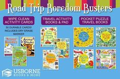 Find all of your road trip boredom busters at http://t3510.myubam.com!