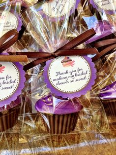 CUPCAKE SOAPS (10 Favors) - Birthday Party Favor, Cupcake Soap Favor, Wedding Cake Favor, Cupcake Birthday Theme. $18.50, via Etsy.