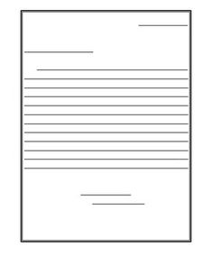I Made These Friendly Letter Templates To Use At The End Of The