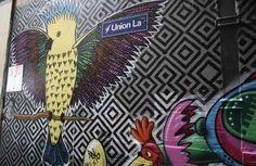 Melbourne's street art scene