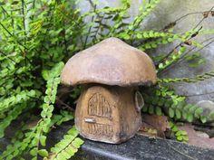 mushroom fairy house ... start painting some rocks
