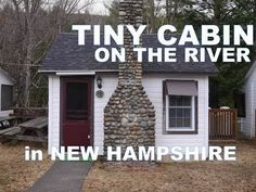 """""""The Pemi Cabins""""- Tiny NH Cabins Right On A River! (Tiny Houses) - YouTube.  Very cool little cabin."""
