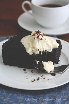 This insanely rich, moist gluten-free chocolate cake was made in a slow cooker. So easy and delicious, you may never make cake in an oven again!