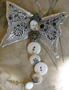 Silvery button fairy