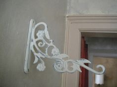 Wall hook planter hanger shabby chic birdfeeder hook by ShabbyRoad, $10.00