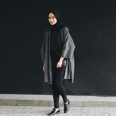 I'm wearing outer by @privatofficial x Taken by @jeslynartafaustina