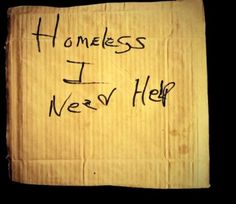 homeless-sign-6 - 14 Homeless Signs With Poignant Messages That ...