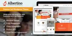 Albertino - Science Research & Technology WP Theme by AncoraThemes CURRENT VERSION 1.3 (see Change log at the bottom of this page) If you are looking for a professional solution for a science web