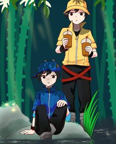 """Kawaraniㄟ(≧◇≦)ㄏ di Instagram """"✨Old pic style on 9th grade✨. . This is my old friend's request, immediately remembered that time. there are still a lot of failed with a…"""" Anime Galaxy, Boboiboy Galaxy, Cartoon Movies, Cartoon Art, Boboiboy Anime, Akakuro, Asuna, Tokyo Ghoul, Old Friends"""