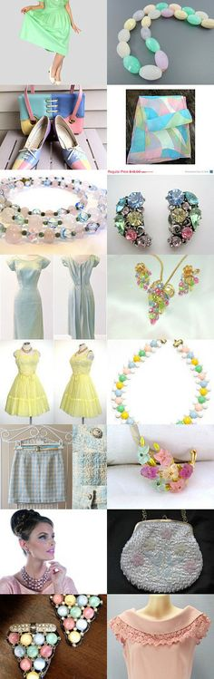 Vintage Pastels from