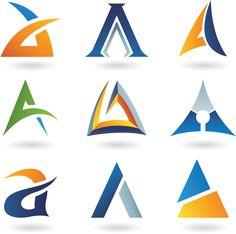Free - Different Creative Stylish Logo design vector 02