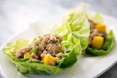 Chicken Mango Lettuce Wraps Recipe