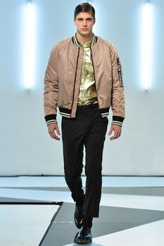 MSGM presented its Fall/Winter 2014 collection during Milan Fashion Week,