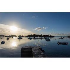 Ely's Harbour #bermuda #wearebda #wearebermuda #ahhbermuda #ocean #sunset #ilivewhereyouvacation by ianwatkinson_bda