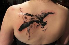Tattoos - Gene Coffey - goose