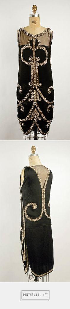 Evening dress by Callot Soeurs ca. 1925 French | The Metropolitan Museum of Art