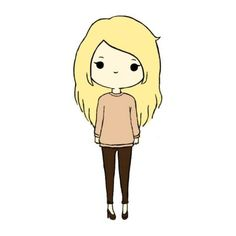 Chibis found on Polyvore featuring polyvore, fillers, chibis, anime, people, backgrounds, doodle, text, phrase and quotes