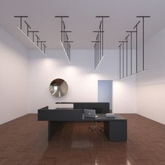 Fuga linear LED pendant 600-900-1200