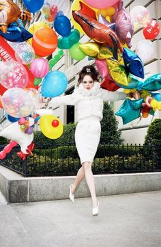 Coco Rocha by Arthur Elgort for Vogue Nippon 2008.