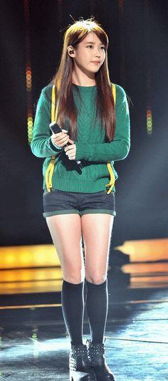 IU (Lee Ji Eun) Singer and Actress