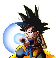 Goku Jr by karoine on DeviantArt