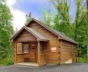 """Located only 1 mile from the Parkway, """"Beary Blue"""" is the perfect cabin for honeymooners or families looking to get away. Sleeping up to 6, this home will be your home away from home."""