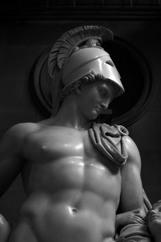 Greek God- Ares, the god of war. Mars is the Roman name.