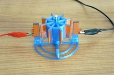 Create your own electrostatic motor using a 3D printer @3dersorg #3DPrinting #Manufacturing #STEM