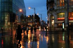 Because Manchester is even beautiful in the rain. | 46 Reasons You Need To Move To Manchester