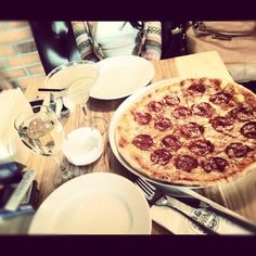 A delicious lunch in Pizza Express  by Sasha D