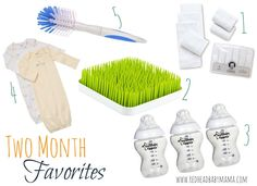 2 month baby favorites