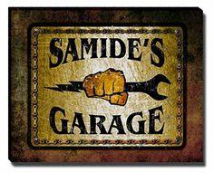 Samide's Garage Stretched Canvas Print ZuWEE https://www.amazon.com/dp/B01JKEARAY/ref=cm_sw_r_pi_dp_x_kTu-xbB60N38K