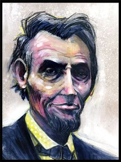 Abraham Lincoln Art Print.