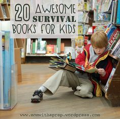 20 Awesome Survival Books for Kids | #survival #preparedness #kids #books