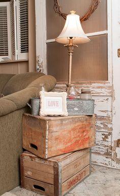 03 Awesome Rustic Farmhouse Living Room Decor Ideas