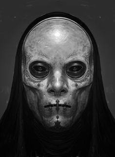Harry Potter Concept Art: Death Eaters by Rob Bliss